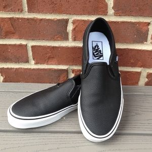 Vans Classic Perforated Leather Slip On